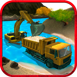 River Sand Excavator Simulator for PC and MAC
