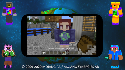 Mod Girlfriends Friends MCPE screenshots 2