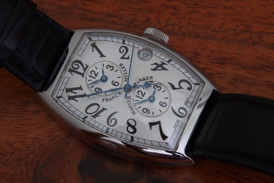 reputable site fcb81 abe41 FS: Franck Muller Master Banker 5850MB Near Mint Condition!