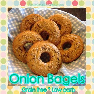Onion Bagels - Au Naturale!