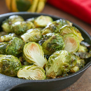 Ranch Roasted Brussels Sprouts