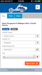 BusOnlineTicket- screenshot thumbnail