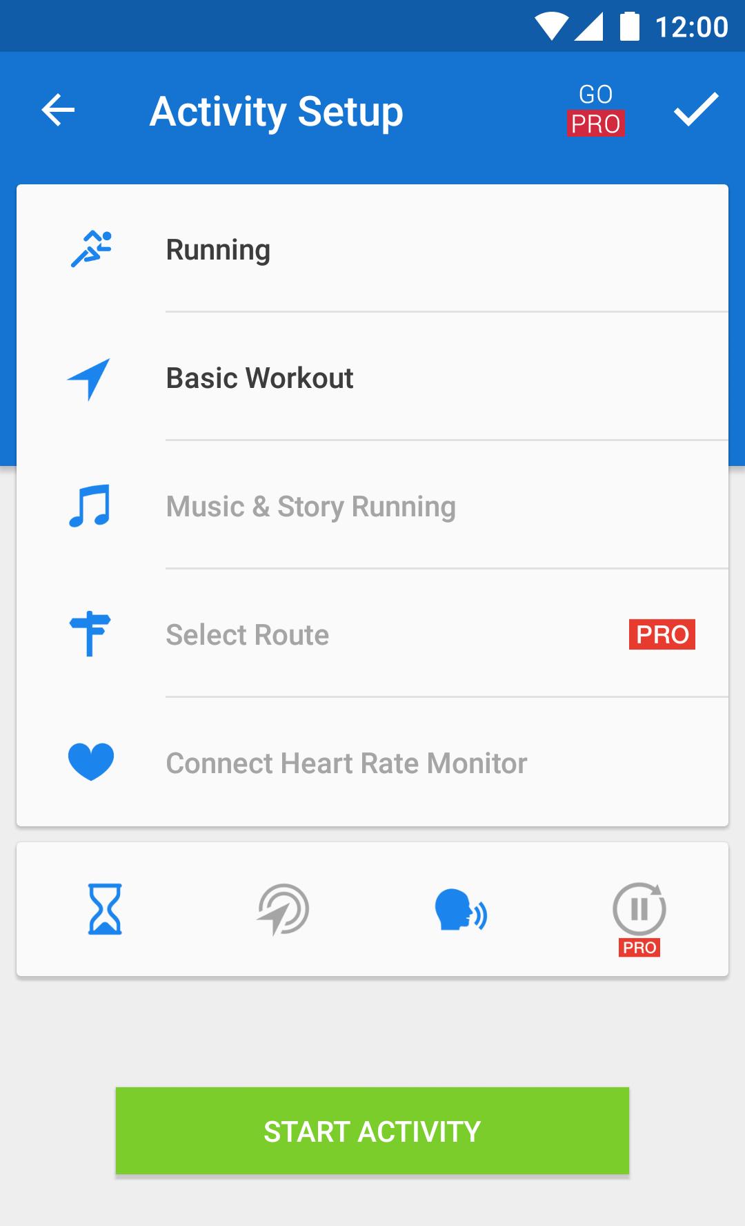 Runtastic Running & Fitness screenshot #2