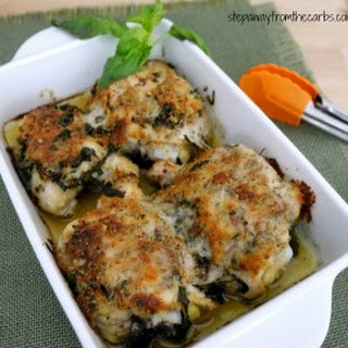 Italian Baked Chicken Thighs.