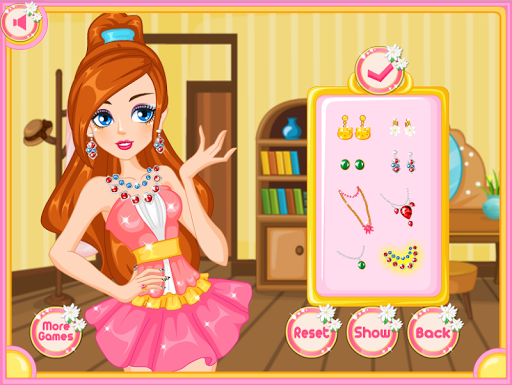 Dress Up Games and make-up