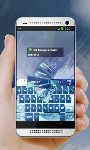 蓝泪Lán lèi GO Keyboard