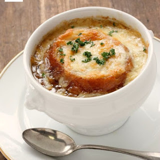 Granite City's French Onion Soup.