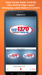 WCOA Newstalk 1370- screenshot thumbnail
