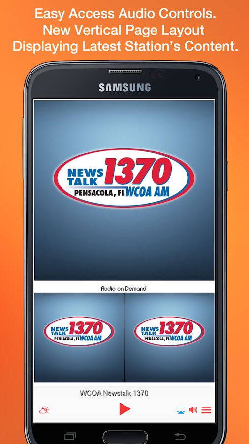 WCOA Newstalk 1370- screenshot