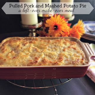 Pulled Pork and Mashed Potato Pie