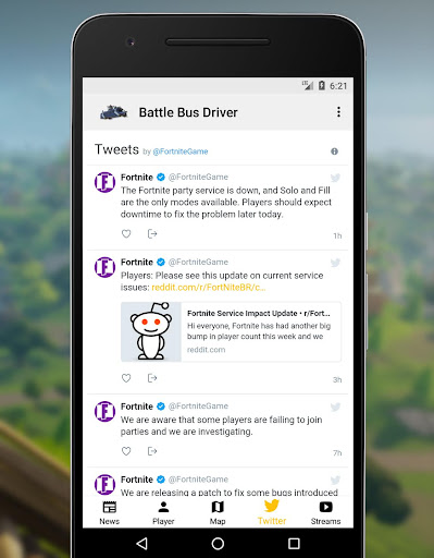 Download Battle Bus Driver - Fortnite Companion Google Play