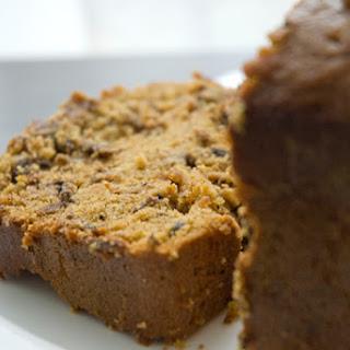 Betty Crocker's Bread Machine Pumpkin Spice Bread with Chocolate and Dates.