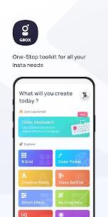 Toolkit for Instagram – Gbox (MOD, Premium) v0.6.18 1