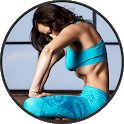 Stomach Vacuum Breathing Exercise: lose belly fat icon