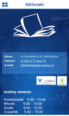 android Politechnika Krakowska Screenshot 5