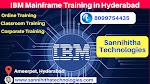 IBM Mainframe Training in Hyderabad
