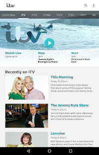 ITV Hub- screenshot thumbnail
