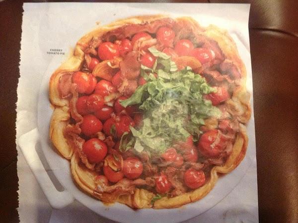 Cherry Tomato Pie Recipe
