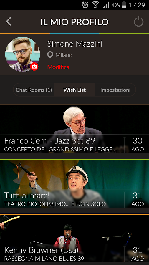 Spazio Teatro 89- screenshot