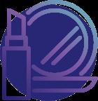 BeautyClass - Ícone de Batom e Espelho