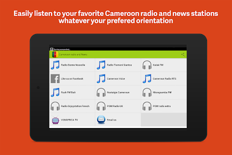 Cameroon Radio- screenshot thumbnail