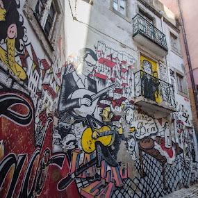 by David Barash - City,  Street & Park  Street Scenes