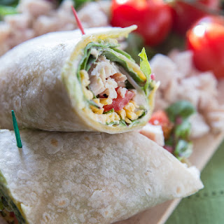 Southwestern Chipotle Chicken Wrap
