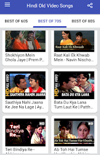 Hindi Old Songs Video App Download For Android 4