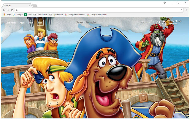 Scooby Doo HD Wallpapers New Tab Themes