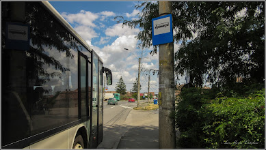 Photo: Turda - Calea Victoriei, Micro 3, statie de autobuz - 2019.07.16