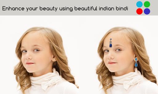 Indian Bindi Photo Maker