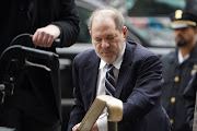 Film producer Harvey Weinstein arrives at New York Criminal Court during his ongoing sexual assault trial, on February 13 2020.
