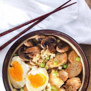 Japanese Ramen with Chicken.
