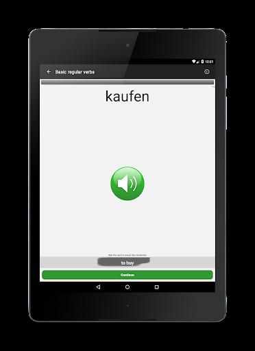 Verben - Trainer screenshot 8
