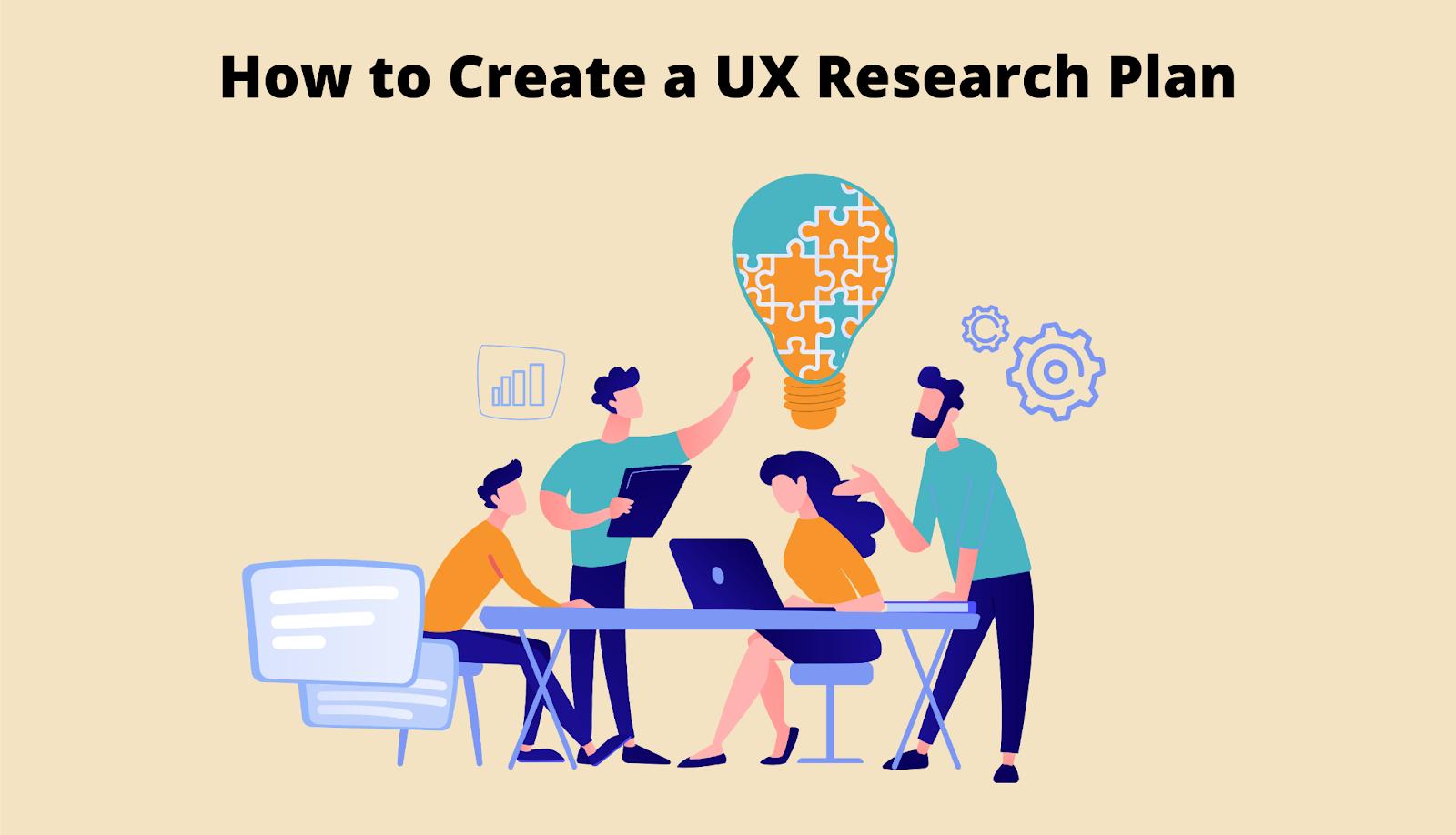 UX research plan