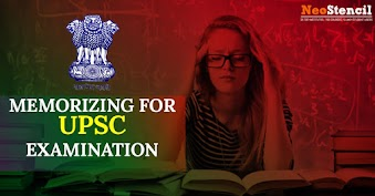 Memorizing for UPSC Examination