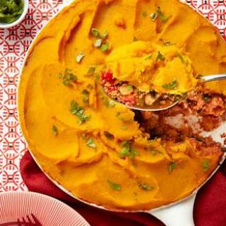 Vegetarian Quinoa & Squash Casserole.