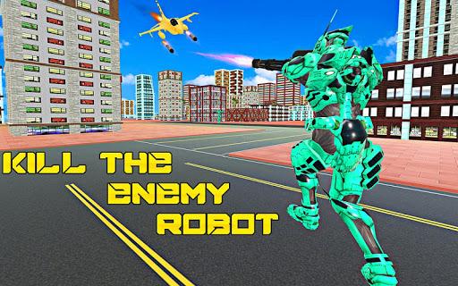 Multi Robot Transform Army Tank War 2 screenshots 2