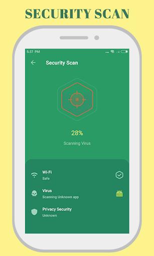 Ssafe Security - junk virus cleaner 1.3.8 screenshots 1