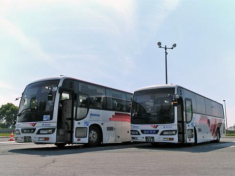 西鉄高速バス「桜島号」 6020 北熊本SAにて その1