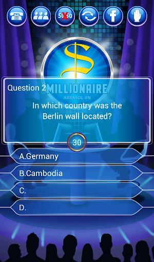 Millionaire Quiz 2018 - Million Trivia Game Free 3.26 screenshots 15