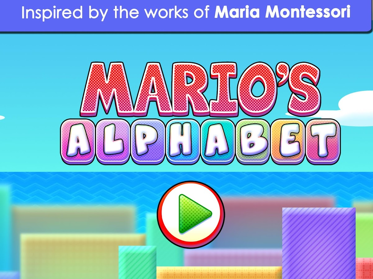 Learn to Read : Mario Alphabet- screenshot