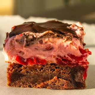 Cherry Chocolate Brownie.