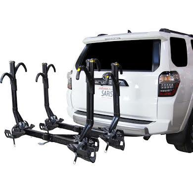 "Saris SuperClamp EX Hitch Bike Rack - 4-Bike, 2"" Receiver, Black"