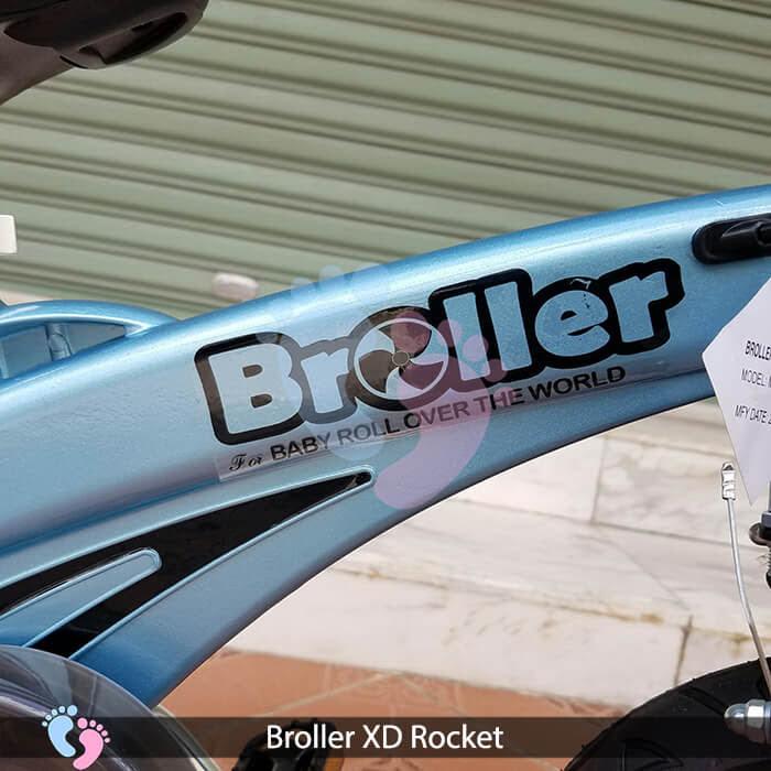 Xe đạp cho bé Broller XD Rocket 2 pt 4