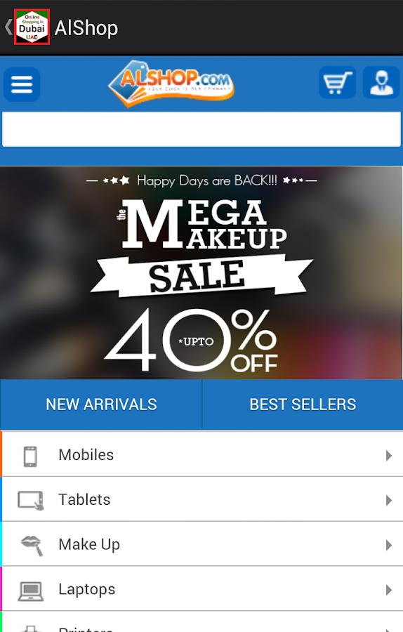 Online shopping portals in uae