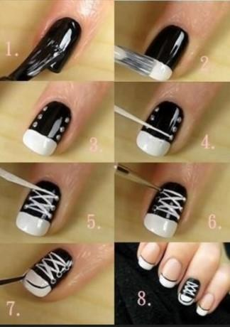 Nail art step by step designs android apps on google play nail art step by step designs screenshot prinsesfo Gallery