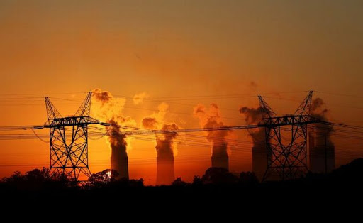 Eskom power station. Picture: REUTERS