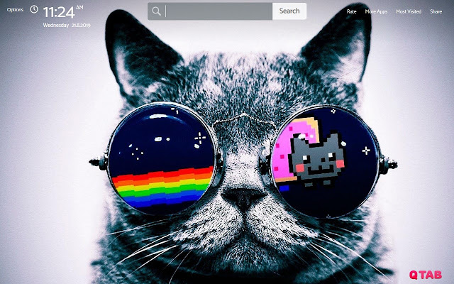 Nyan Cat Wallpapers New Tab Theme