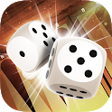 Backgammon Pasha: Free online dice and table game! icon
